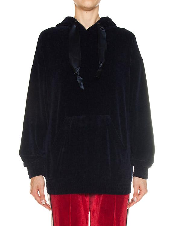 олимпийка из бархата с вышивкой на спине артикул FCFW1732 марки Forte Couture купить за 39700 руб.