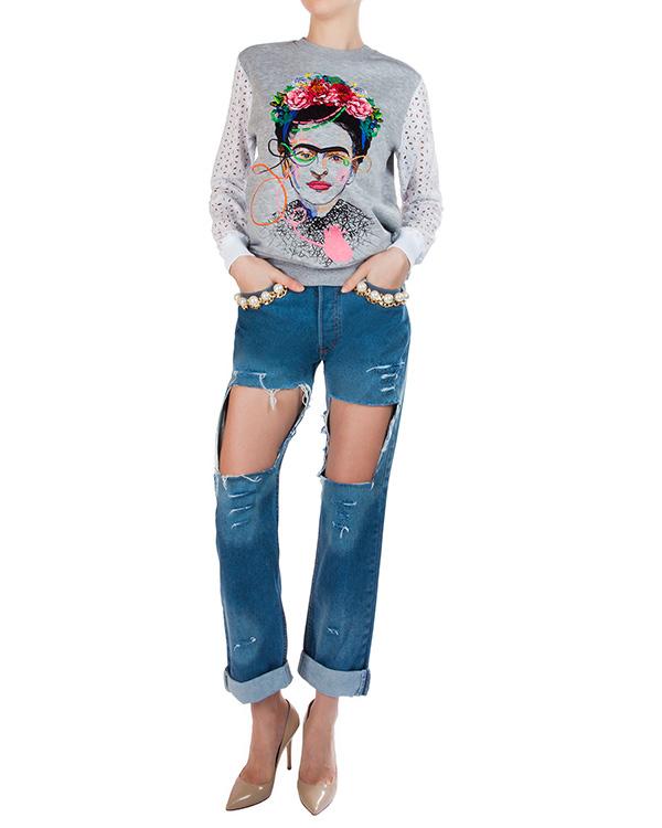 женская джинсы Forte Couture, сезон: лето 2016. Купить за 21300 руб. | Фото 3
