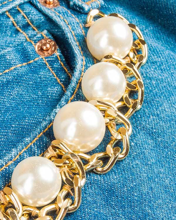 женская джинсы Forte Couture, сезон: лето 2016. Купить за 21300 руб. | Фото 4