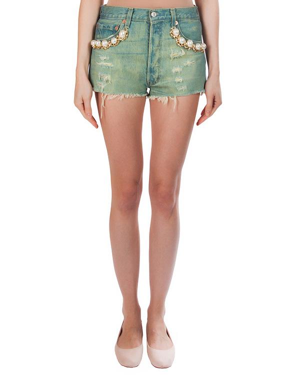 женская шорты Forte Couture, сезон: лето 2016. Купить за 10700 руб. | Фото 1