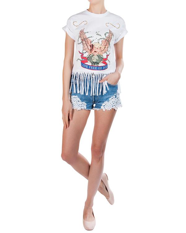 женская футболка Forte Couture, сезон: лето 2016. Купить за 8500 руб. | Фото 3