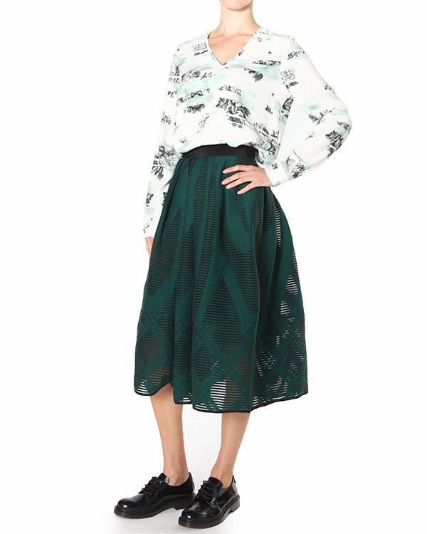 женская блуза TIBI, сезон: зима 2014/15. Купить за 11800 руб. | Фото 3