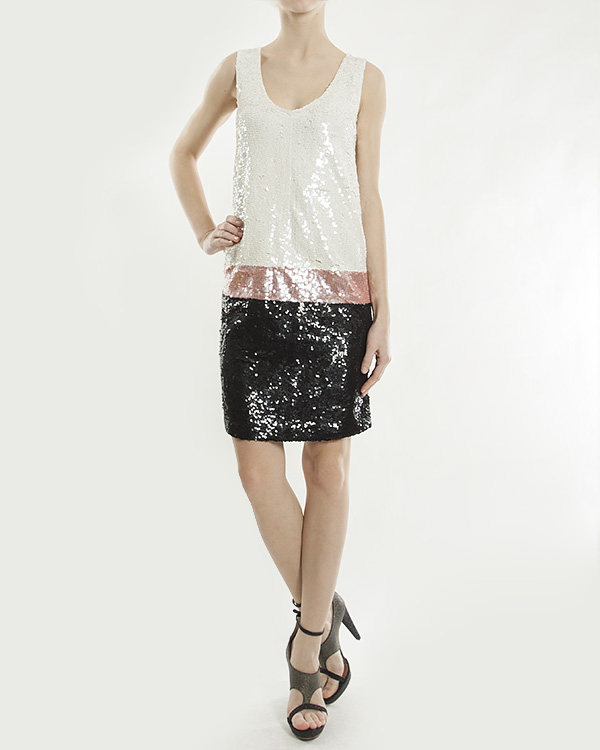 женская платье P.A.R.O.S.H., сезон: лето 2013. Купить за 17700 руб.   Фото 1