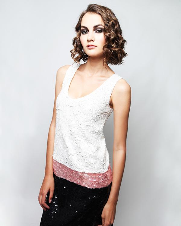 женская платье P.A.R.O.S.H., сезон: лето 2013. Купить за 17700 руб.   Фото 4