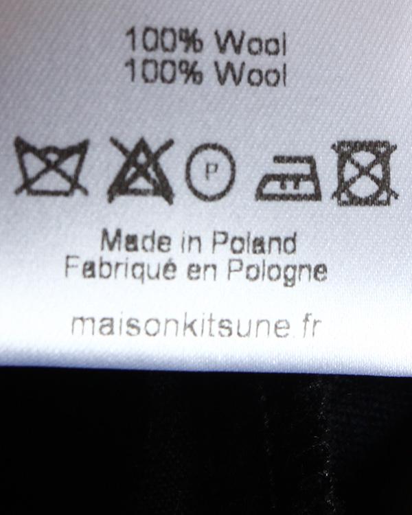 женская брюки Maison Kitsune, сезон: зима 2014/15. Купить за 9400 руб. | Фото 5