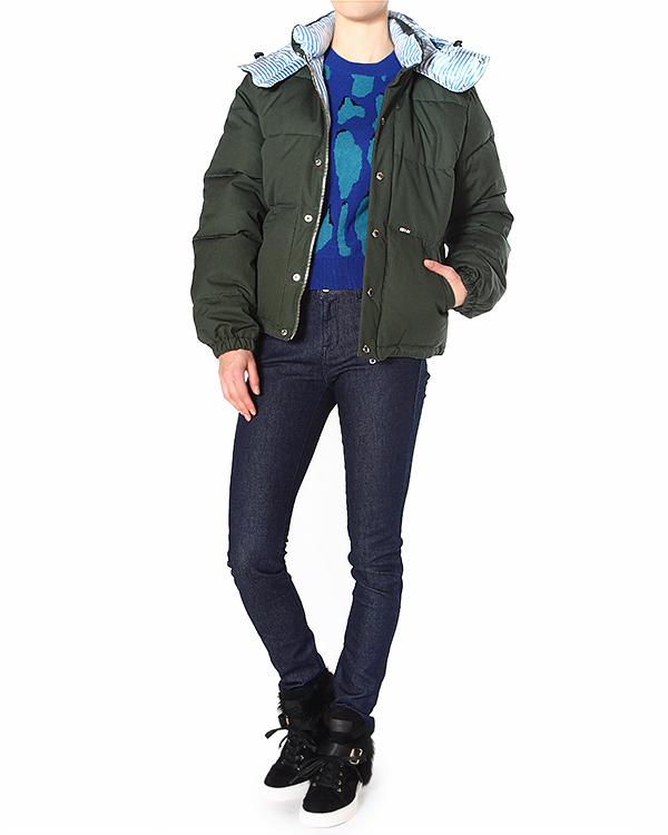 женская джинсы Maison Kitsune, сезон: зима 2014/15. Купить за 5300 руб. | Фото 3