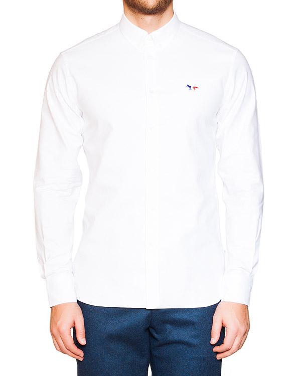 мужская рубашка Maison Kitsune, сезон: зима 2015/16. Купить за 7000 руб. | Фото 1