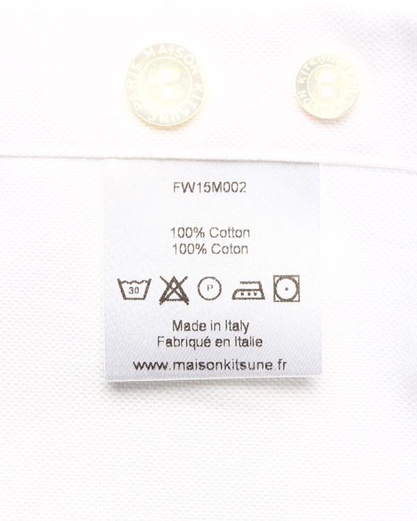 мужская рубашка Maison Kitsune, сезон: зима 2015/16. Купить за 7000 руб. | Фото 5