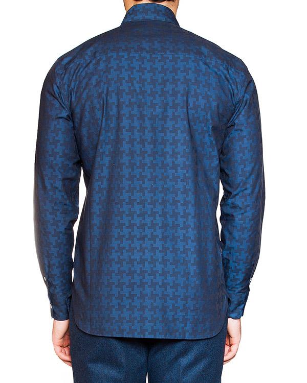 мужская рубашка Maison Kitsune, сезон: зима 2015/16. Купить за 7300 руб. | Фото 2