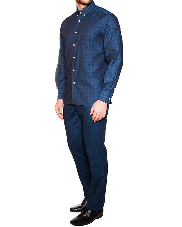 мужская рубашка Maison Kitsune, сезон: зима 2015/16. Купить за 7300 руб. | Фото 3