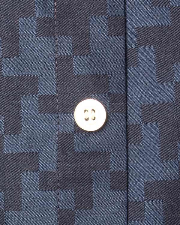 мужская рубашка Maison Kitsune, сезон: зима 2015/16. Купить за 7300 руб. | Фото 4