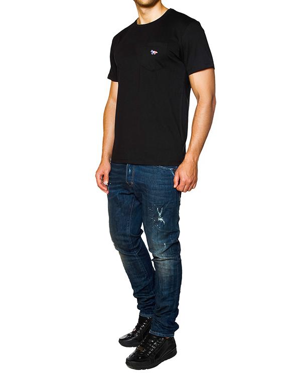 мужская футболка Maison Kitsune, сезон: зима 2015/16. Купить за 2600 руб. | Фото 3