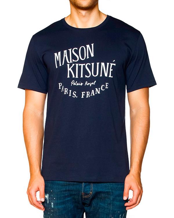 мужская футболка Maison Kitsune, сезон: зима 2015/16. Купить за 2200 руб. | Фото 1