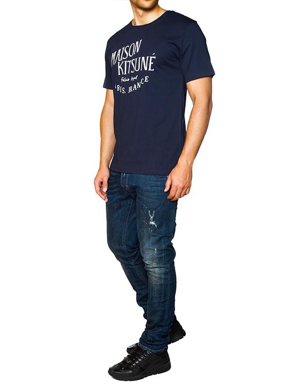 мужская футболка Maison Kitsune, сезон: зима 2015/16. Купить за 2200 руб. | Фото 3