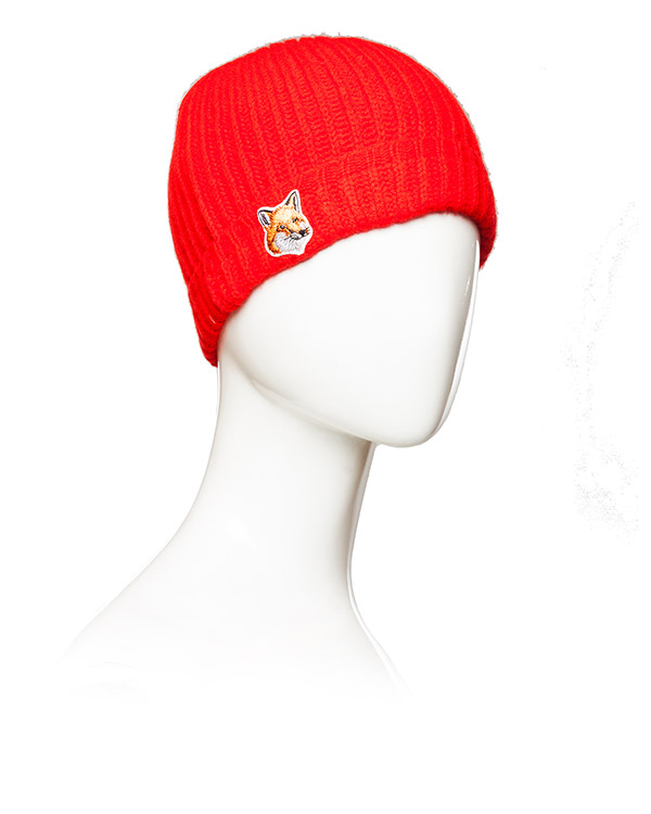 аксессуары шапка Maison Kitsune, сезон: зима 2015/16. Купить за 2200 руб. | Фото 2