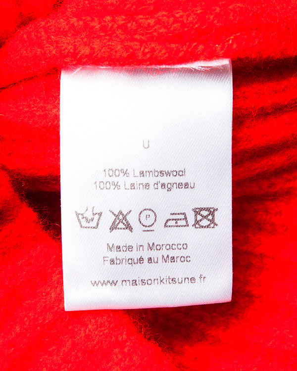 аксессуары шапка Maison Kitsune, сезон: зима 2015/16. Купить за 2200 руб. | Фото 4