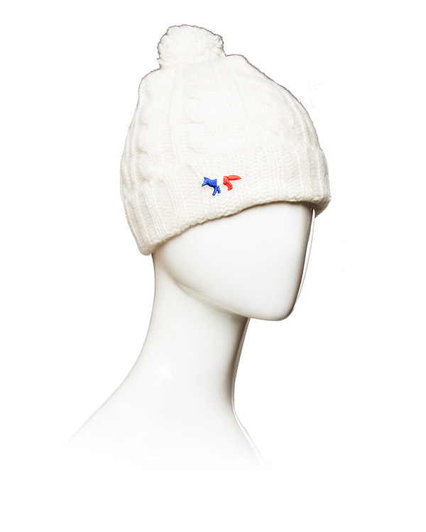 аксессуары шапка Maison Kitsune, сезон: зима 2015/16. Купить за 3000 руб. | Фото 2