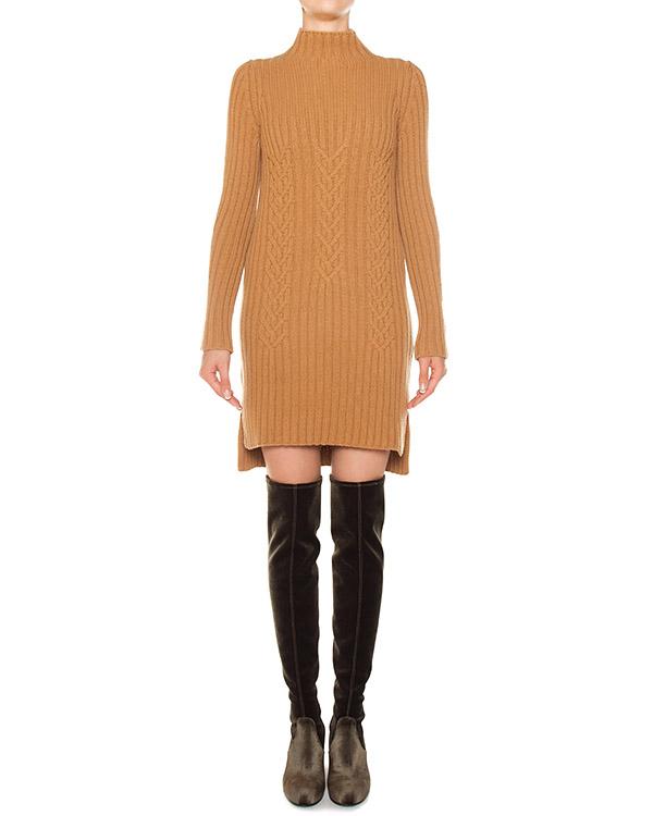 платье из трикотажной шерсти с разрезами  артикул FW170044 марки MRZ купить за 51700 руб.