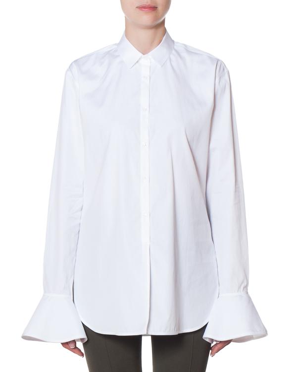 рубашка удлиненного силуэта из хлопка артикул FW170064 марки MRZ купить за 23000 руб.
