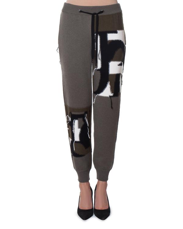 брюки спортивного кроя из шерсти и кашемира артикул FW170142 марки MRZ купить за 36000 руб.