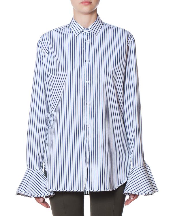 рубашка из хлопка в полоску артикул FW170262 марки MRZ купить за 23000 руб.