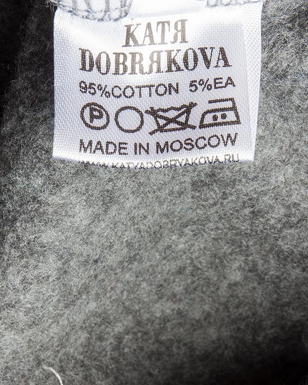 женская свитшот KATЯ DOBRЯKOVA, сезон: зима 2016/17. Купить за 5300 руб. | Фото 5