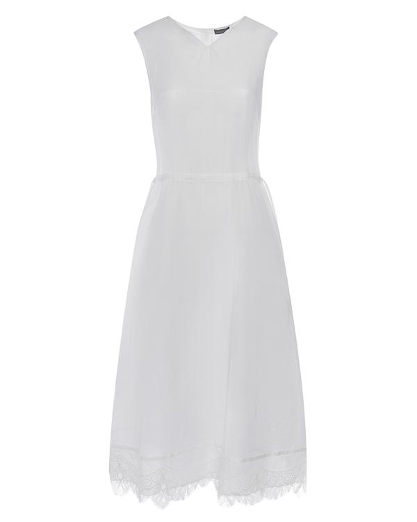 платье сорочка из хлопка с отделкой кружевом артикул G07D156 марки Graviteight купить за 32300 руб.
