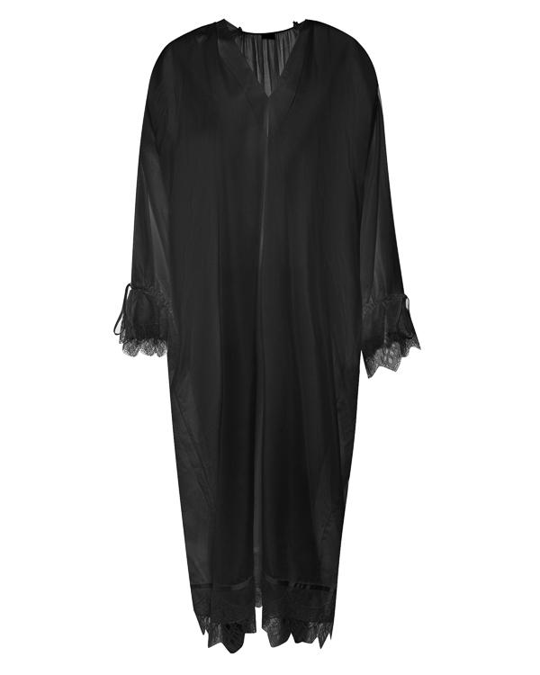 платье сорочка из хлопка с отделкой кружевом  артикул G07D158 марки Graviteight купить за 40800 руб.
