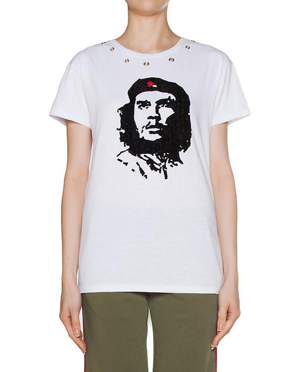 футболка  артикул GHE110567 марки P.A.R.O.S.H. купить за 9600 руб.