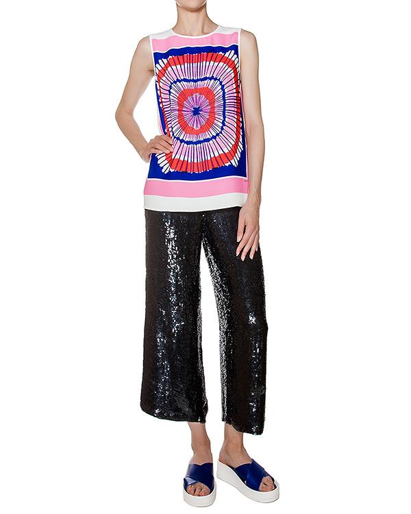 женская брюки P.A.R.O.S.H., сезон: лето 2016. Купить за 16100 руб. | Фото 3