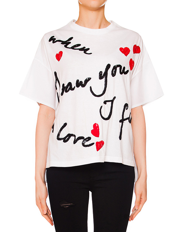 женская футболка P.A.R.O.S.H., сезон: лето 2016. Купить за 16000 руб. | Фото 1