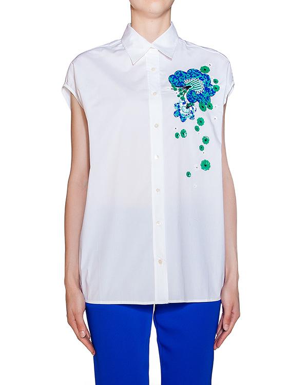 женская рубашка P.A.R.O.S.H., сезон: лето 2016. Купить за 13500 руб. | Фото 1