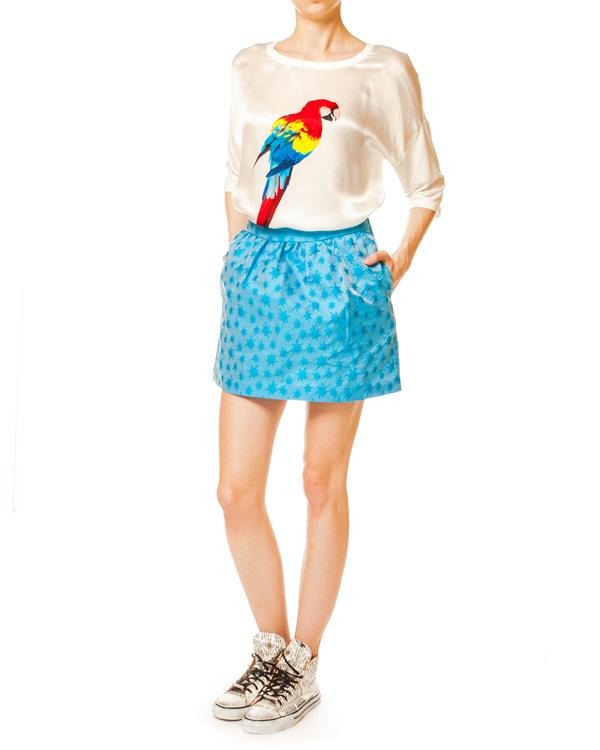 женская юбка Ultra Chic, сезон: лето 2014. Купить за 7800 руб. | Фото $i
