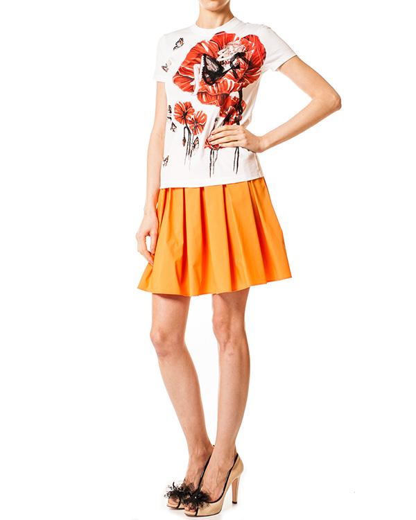 женская юбка Valentino Red, сезон: лето 2014. Купить за 7600 руб. | Фото 3
