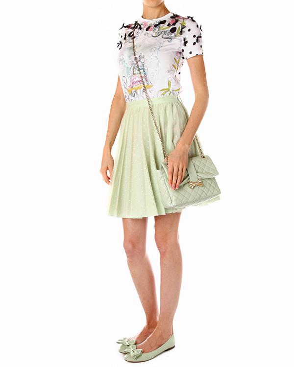 женская юбка Valentino Red, сезон: лето 2014. Купить за 11900 руб. | Фото 3