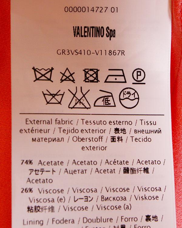 женская платье Valentino Red, сезон: лето 2014. Купить за 16900 руб. | Фото 5