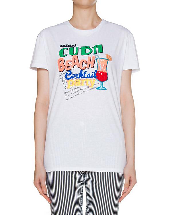 футболка  артикул GUBANA110567 марки P.A.R.O.S.H. купить за 10700 руб.