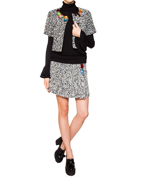 женская юбка Moschino Boutique, сезон: зима 2015/16. Купить за 16100 руб. | Фото 3