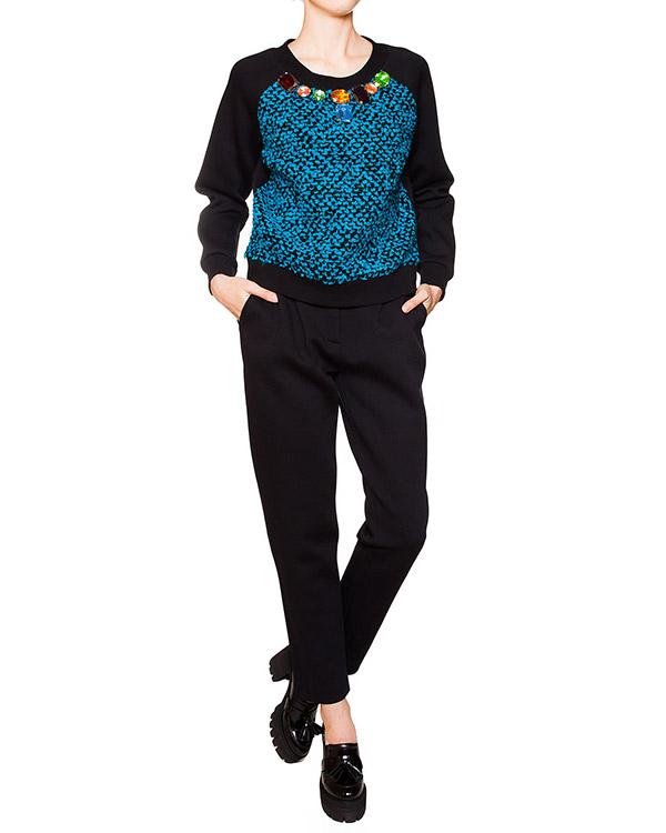 женская брюки Moschino Boutique, сезон: зима 2015/16. Купить за 16100 руб. | Фото 3