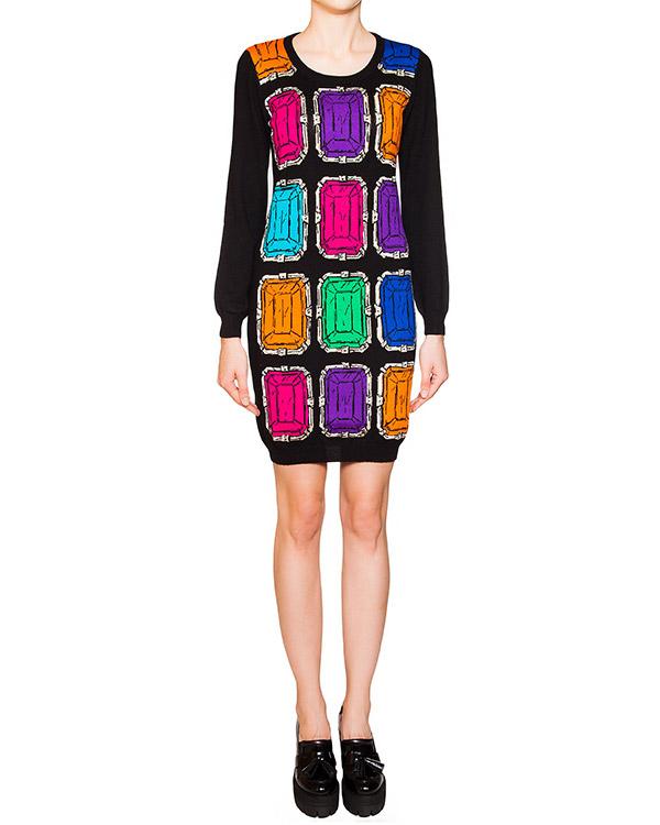 женская платье Moschino Boutique, сезон: зима 2015/16. Купить за 24300 руб. | Фото 1