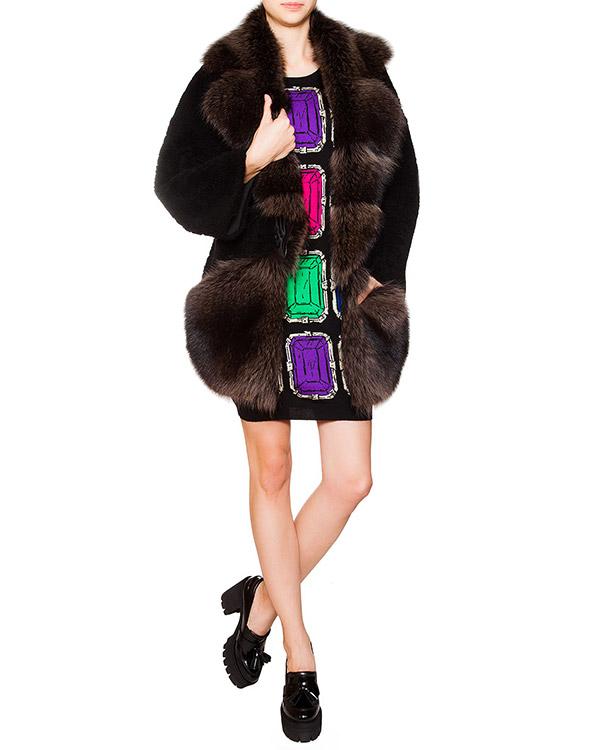 женская платье Moschino Boutique, сезон: зима 2015/16. Купить за 24300 руб. | Фото 3