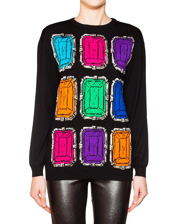 женская джемпер Moschino Boutique, сезон: зима 2015/16. Купить за 20600 руб. | Фото 1