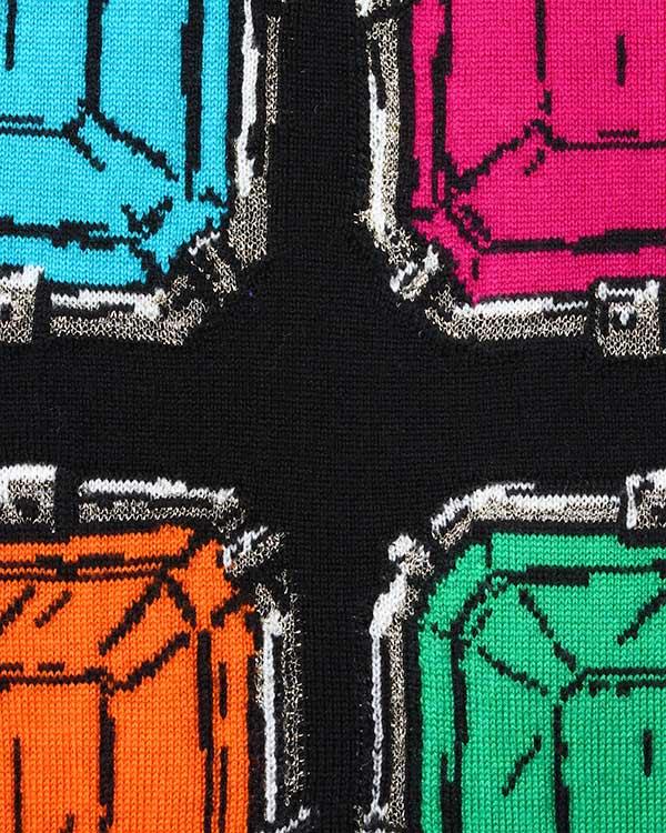 женская джемпер Moschino Boutique, сезон: зима 2015/16. Купить за 20600 руб. | Фото 4
