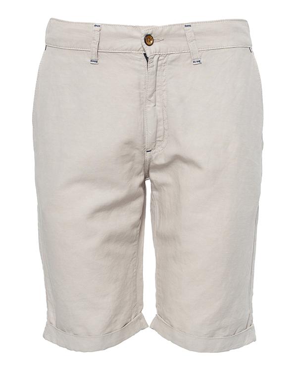 шорты из микса хлопка и льна артикул HBB0060 марки Harmont & Blaine купить за 6600 руб.