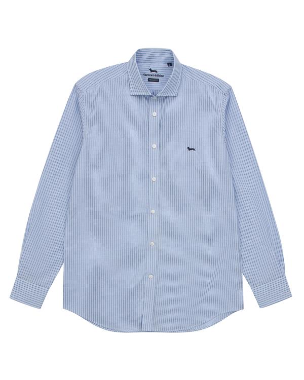 рубашка классического кроя из хлопка артикул HBC0219 марки Harmont & Blaine купить за 12000 руб.
