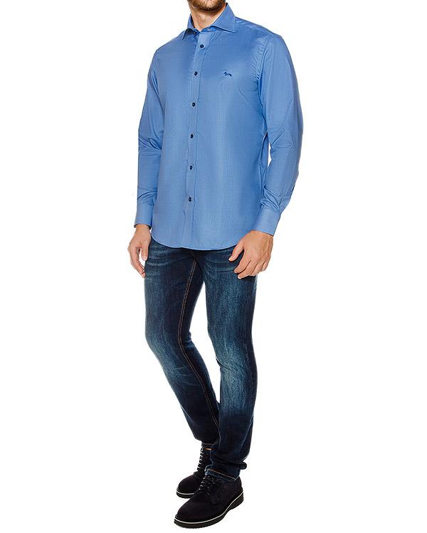 мужская рубашка Harmont & Blaine, сезон: зима 2016/17. Купить за 13200 руб. | Фото 3