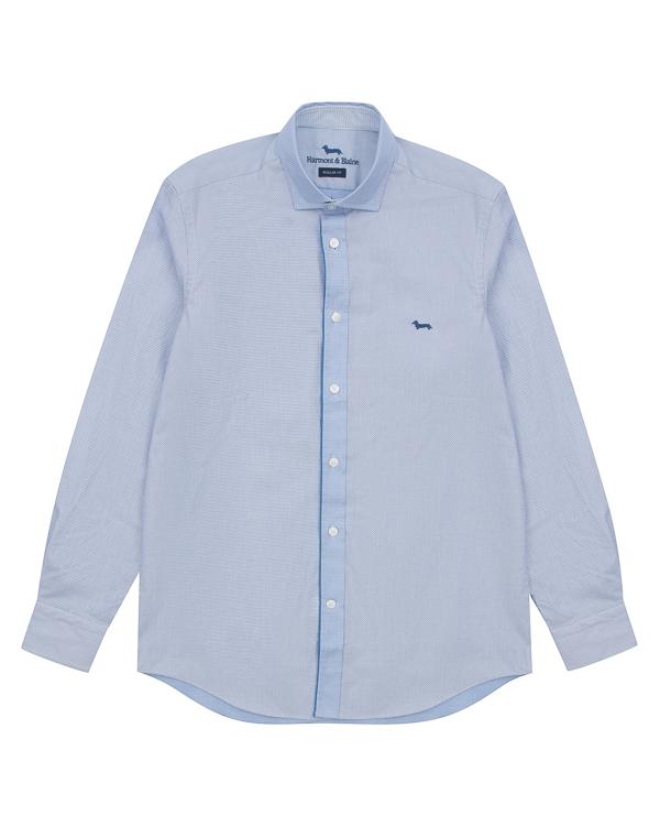 рубашка классического кроя из хлопка артикул HBC0296 марки Harmont & Blaine купить за 11200 руб.