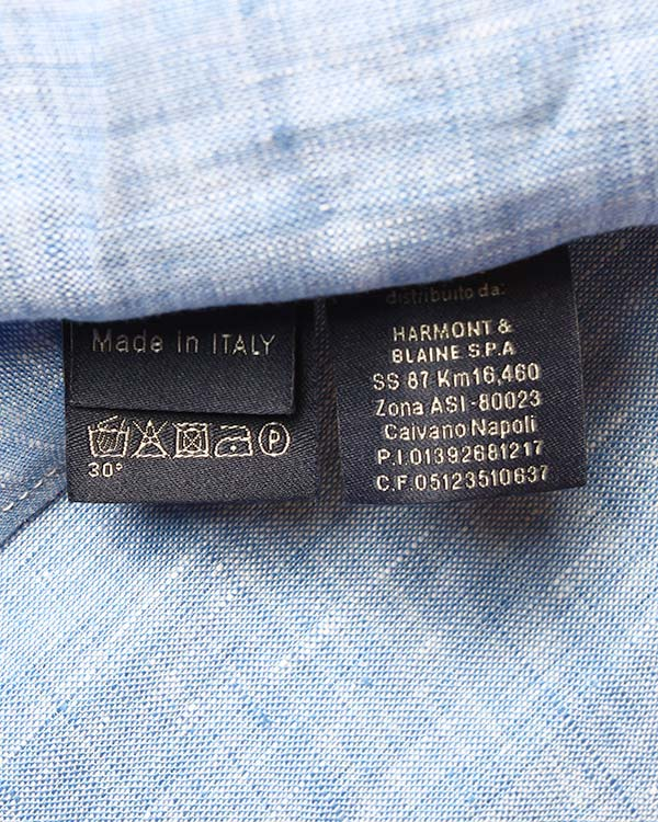 мужская рубашка Harmont & Blaine, сезон: лето 2015. Купить за 7300 руб. | Фото $i