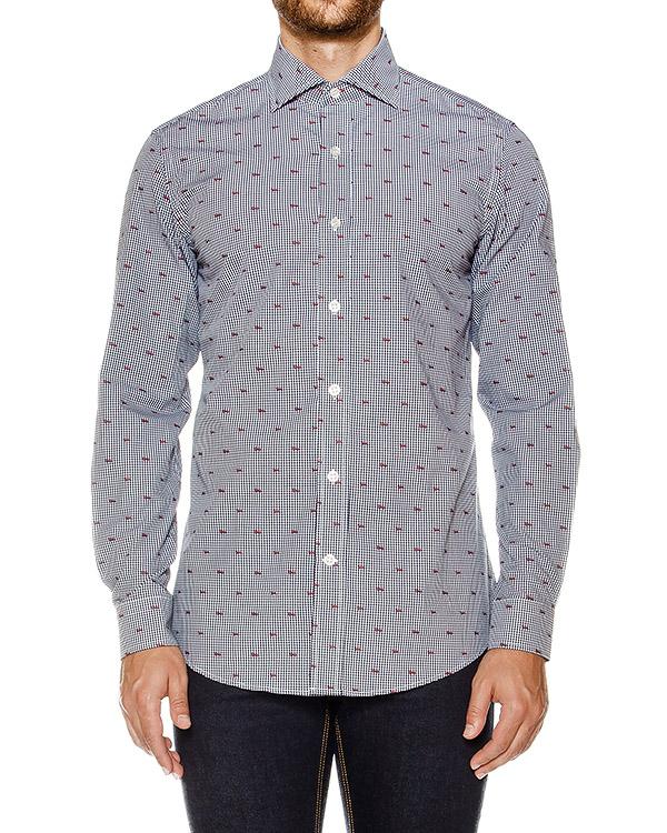 мужская рубашка Harmont & Blaine, сезон: зима 2016/17. Купить за 7500 руб. | Фото 1
