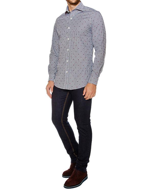мужская рубашка Harmont & Blaine, сезон: зима 2016/17. Купить за 7500 руб. | Фото 3